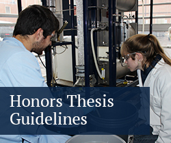 honors thesis guidelines